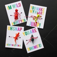 Tiny Animal Valentines Perfect For Boys