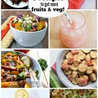 8 Recipes to get more Fruits & Veggies