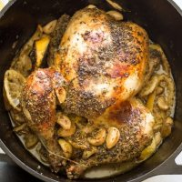 Dutch Oven Grecian Chicken