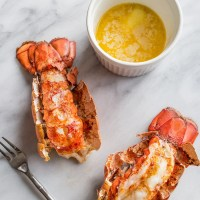 10 Minute Perfect Broiled Lobster Tails Recipe