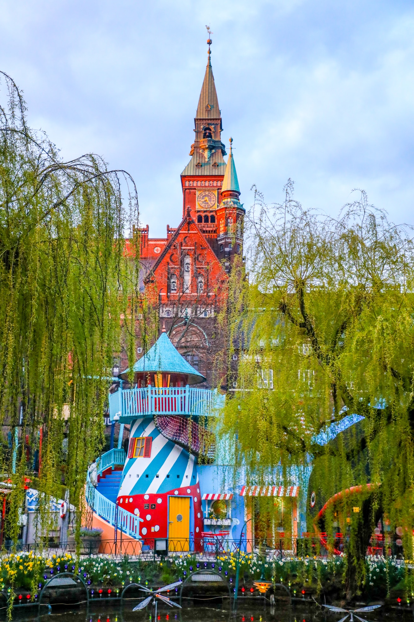 Tivoli Without Rides Tivoli Gardens Copenhagen Sweet Cs Designs