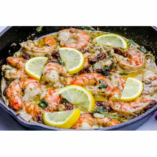 Medium Crop Of Creamy Shrimp Scampi