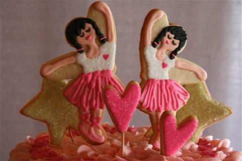 SDB Dancing Ballerina Cake Toppers