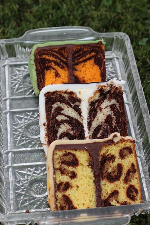 Animal Print INSIDE the Cake - Sweet Dreams and Sugar Highs