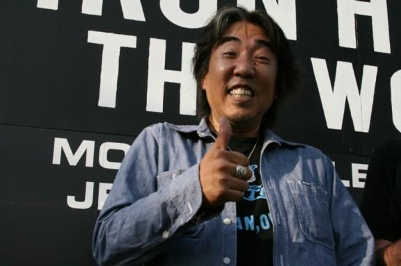 Iron Heart boss Shinichi haraki