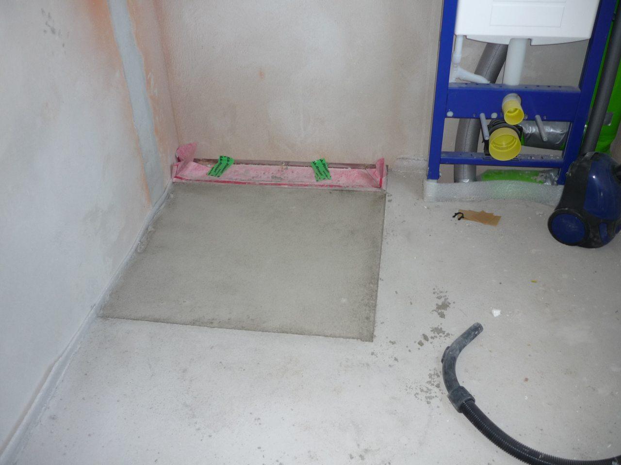 Bodengleiche Dusche Fussbodenheizung Selfio Fussbodenheizung