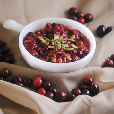 Guajillo Cranberry Sauce