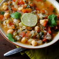 Quick and Easy Garbanzo Soup