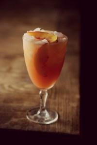 Peach Bourbon Lemonade