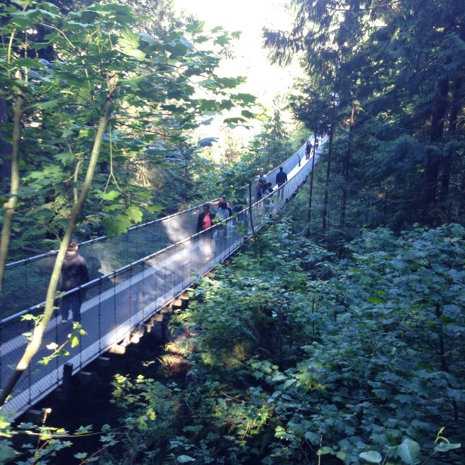 Capilano Suspension Bridge, British Columbia