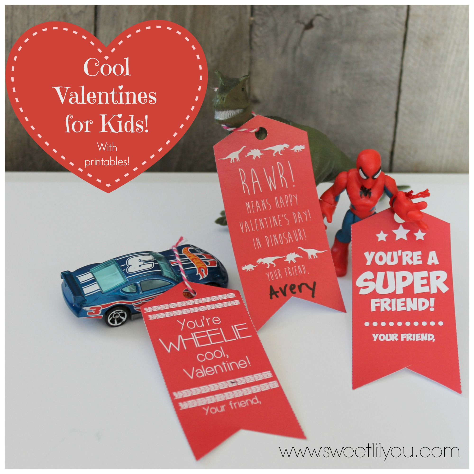 cool valentines for boys u0026 girls free printable tags sweet lil you