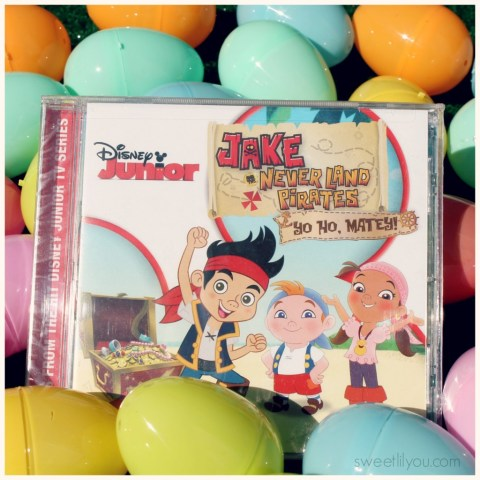 Jake and the Neverland Pirates Yo Ho Matey CD music from Disney Junior! Sing into Spring!