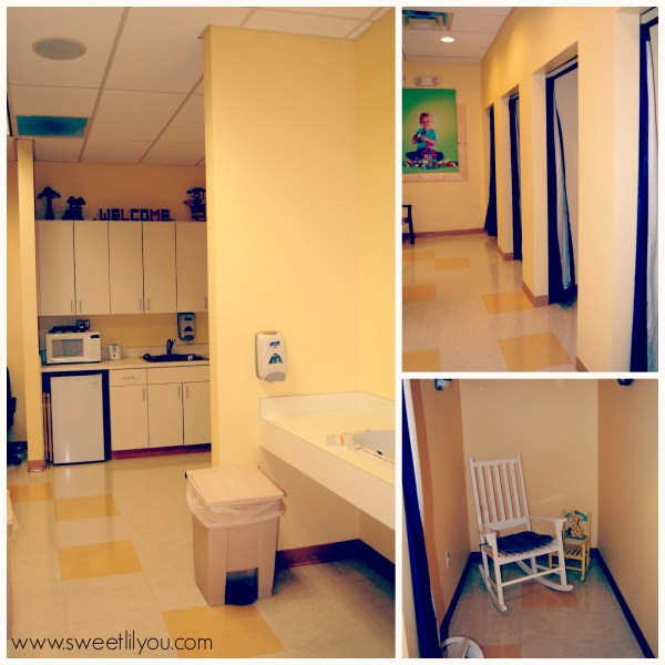 The Baby Care Center Legoland FL Private nursing rooms, changing stations, sinks, microwaves