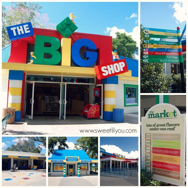 Shopping and Dining at Legloand FL