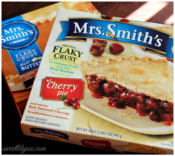 Mrs. Smith's Pies for the holidays #ThankfullySweet