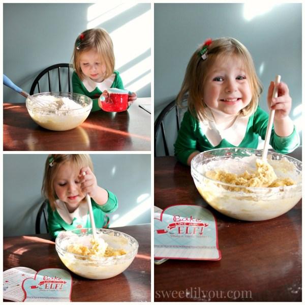 Bake like an elf! #Northpolefun #ad
