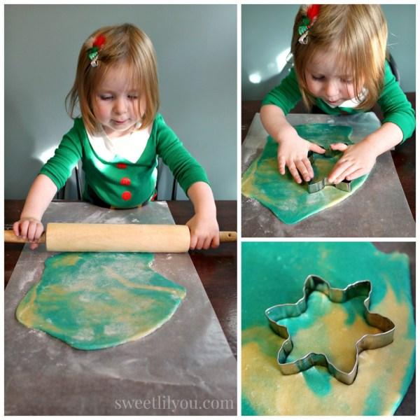 Baking cookies #northpolefun #ad