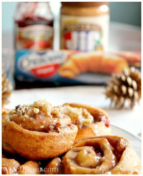 Jif Smuckers Pilsbury PB&J Pinwheels #HolidayAdvantEdge #ad