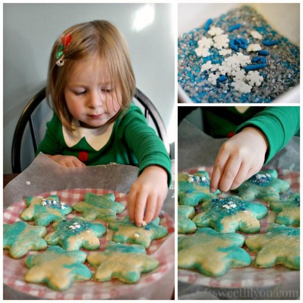 Marble snowflake cookies #northpolefun #ad