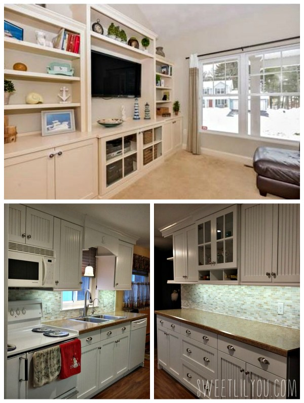 Cabinetry work by Bouvier Interior Woodworking