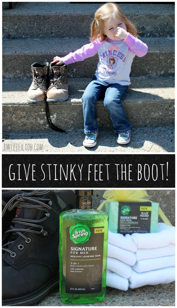 Give stinky feet the boot with Irish Spring #MySignatureMove
