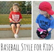 Baseball Style for Kids - Fashion Style Microfashion