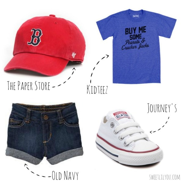 Baseball Themed fashion for kids