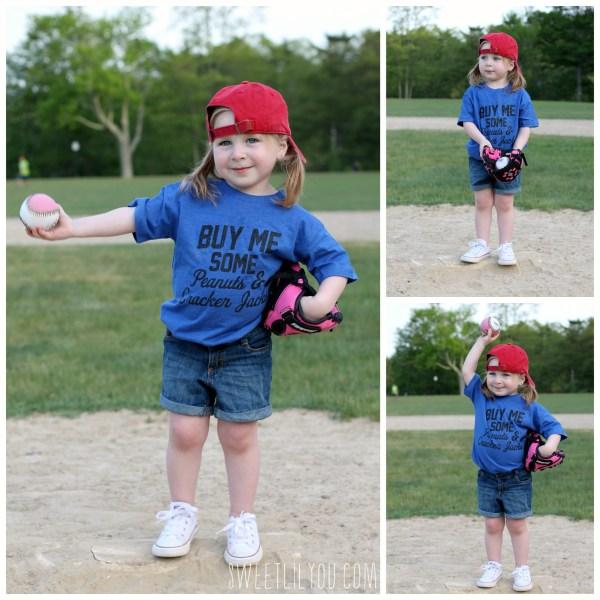 Buy Me Some Peanuts and Cracker Jacks tee Kids Baseball style