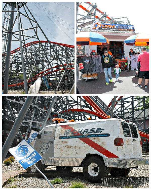Great themeing at Wicked Cyclone