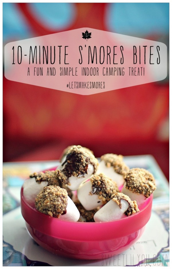 10 Minute S'mores Bites #LetsMakeSmores