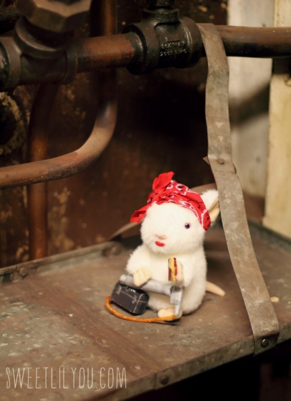Rats at Battleship Cove USS Massachusetts