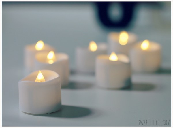 mars LED tealight candles