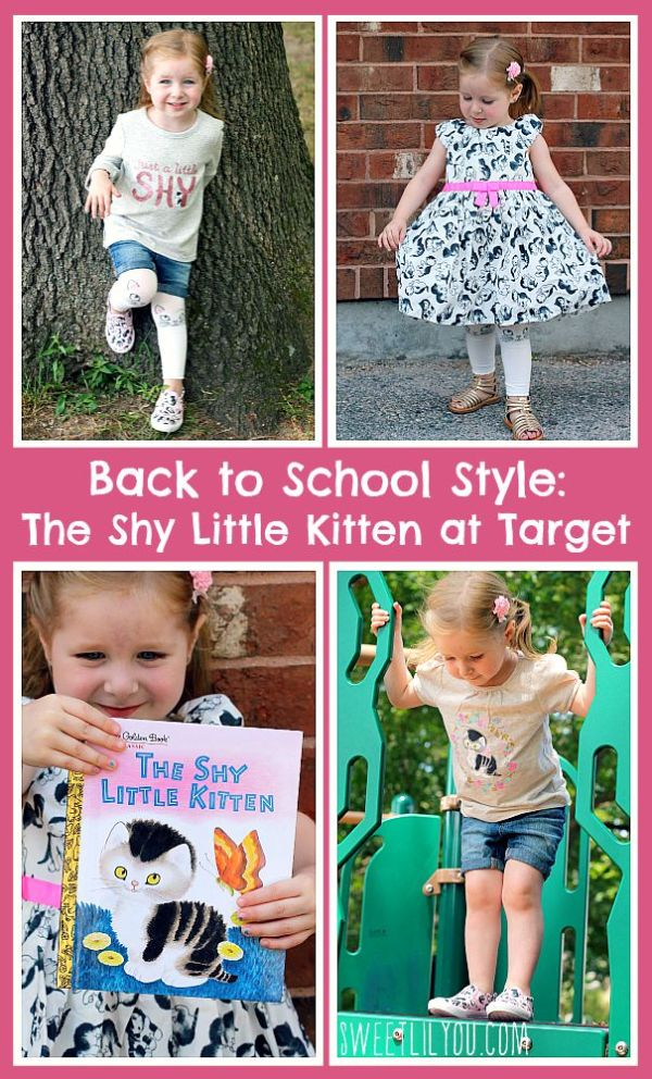 Back to School Style The Shy Little Kitten at Target
