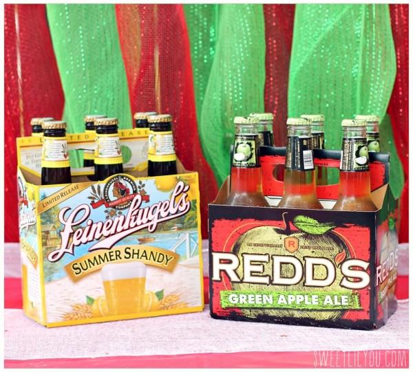 Leinenkugel's Summer Shandy and Redd's Green Apple Ale MillerCoors