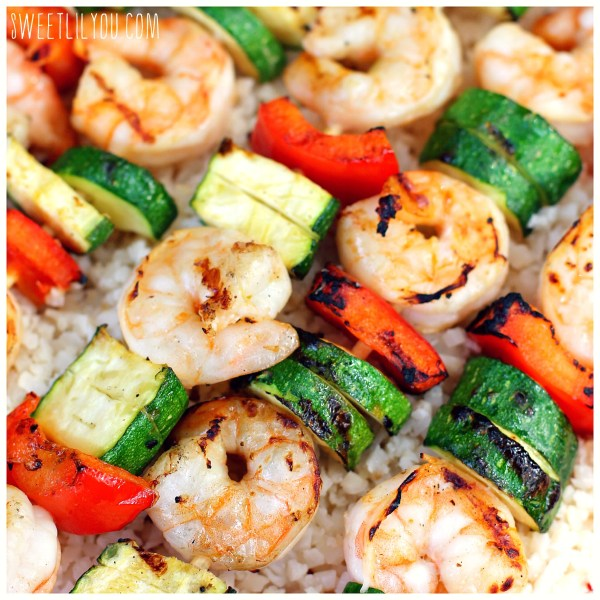 Shrimp Kabobs with Shandy Marinade