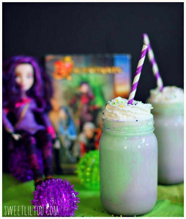 Mal from Disney's Descendants - Milkshake recipe