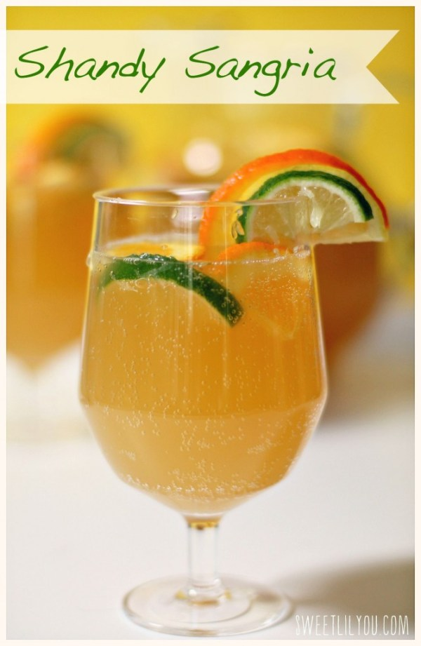 Shandy Sangria - Summer Shandy & Citrus