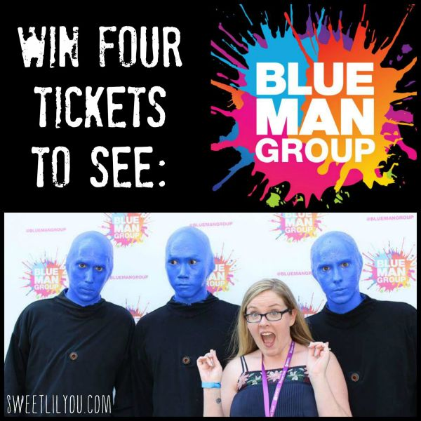 Win four tickets to see Blue Man Group!
