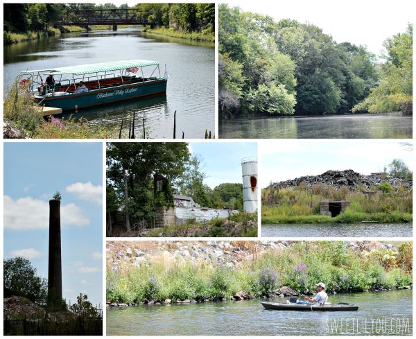 Tours on the Blackstone River aboard the Blackstone Valley Explorer #BlackstoneValley