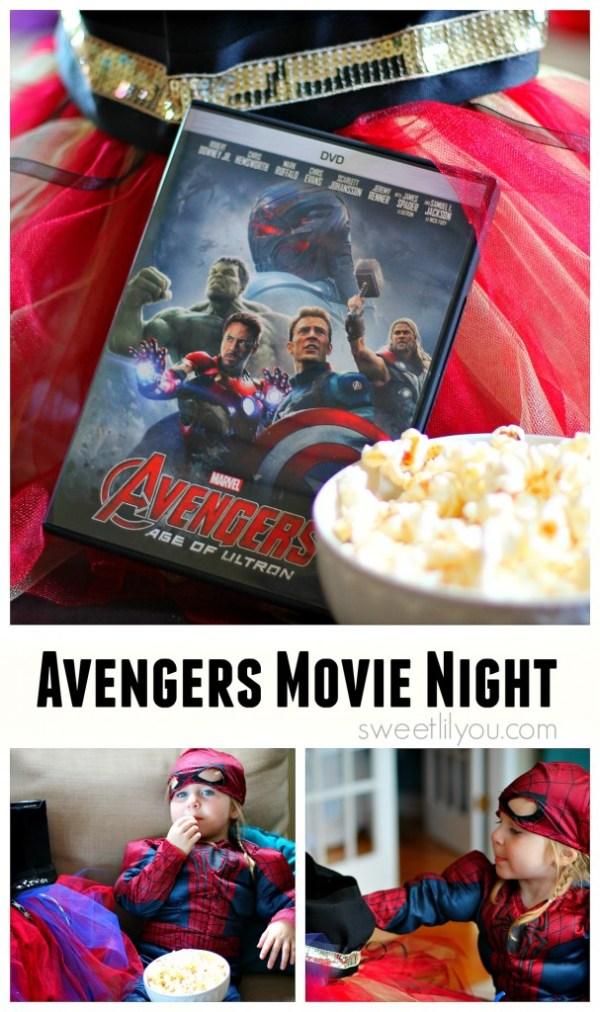 Avengers Movie Night at Home #AvengersUnite (ad)