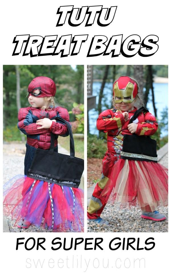 DIY Tutu Treat Bags for Super Girls! #AvengersUnite (ad)