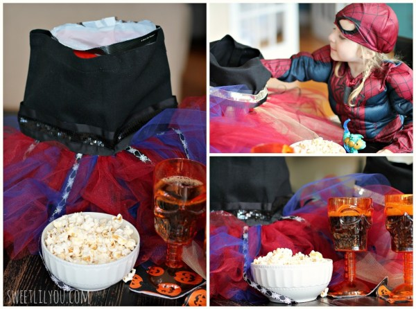 DIY Tutu bag for Halloween Party Decor