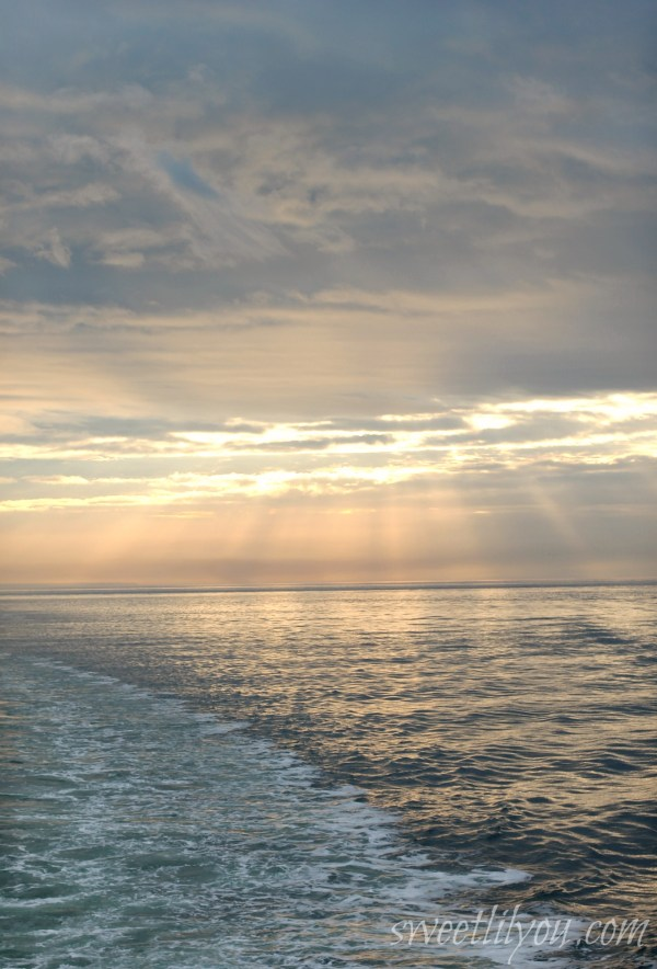 Gorgeous View from Cross Sound Ferry