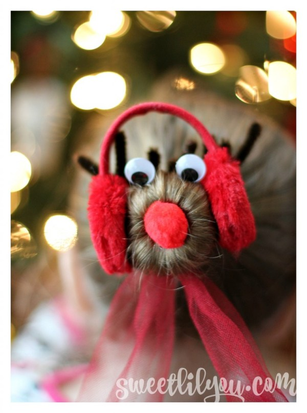 Rudolf with earmuffs