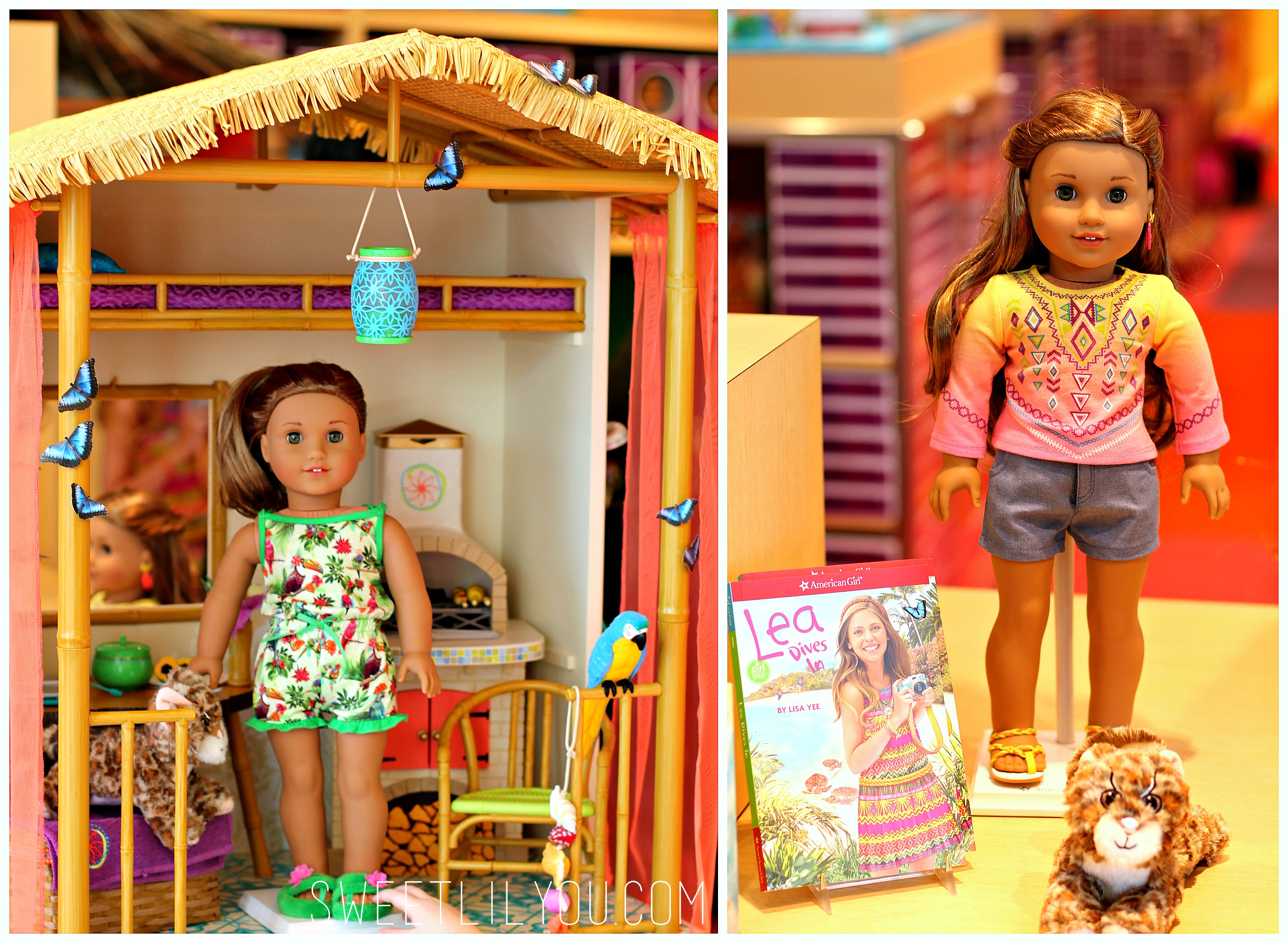 American girl lea clark giveaway sweet lil you for Lea boutique