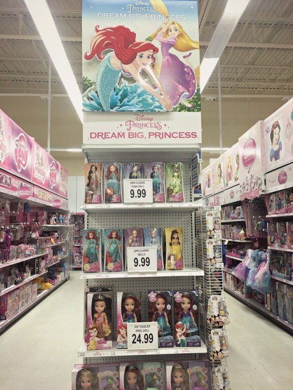 Dream Big Princess in Toys R Us