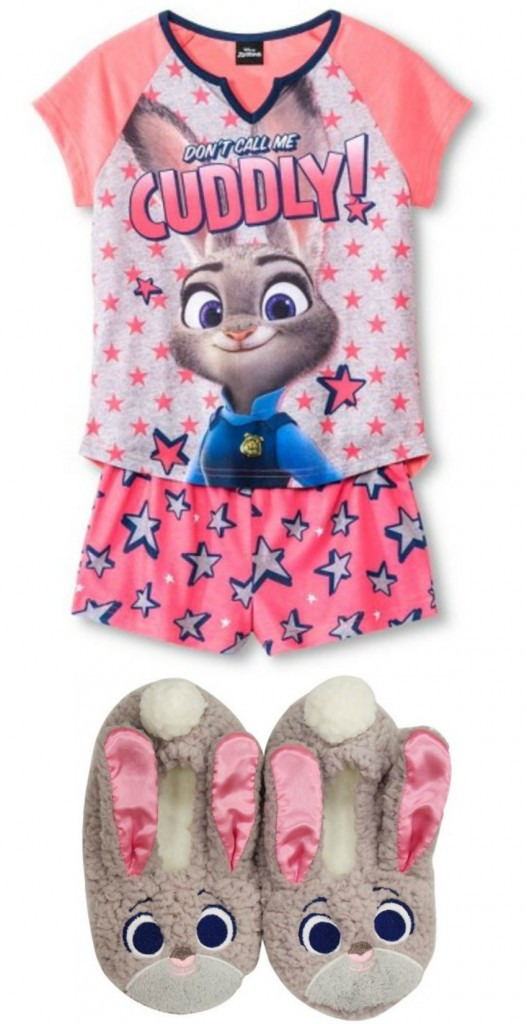 Judy Hopps Pajamas and slippers
