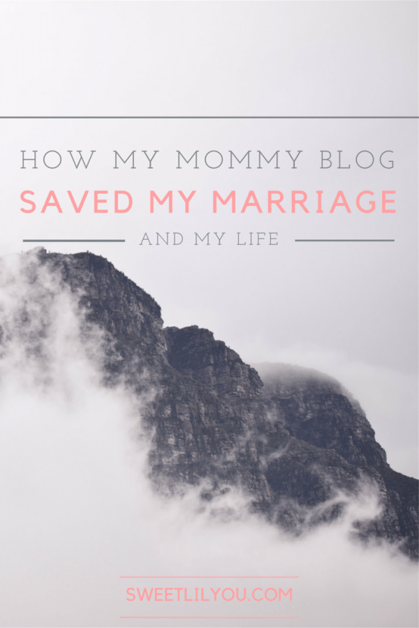 How My Mommy Blog Saved My Marriage and My Life - Postpartum Depression