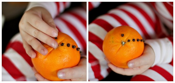 easy christmas crafts pomander