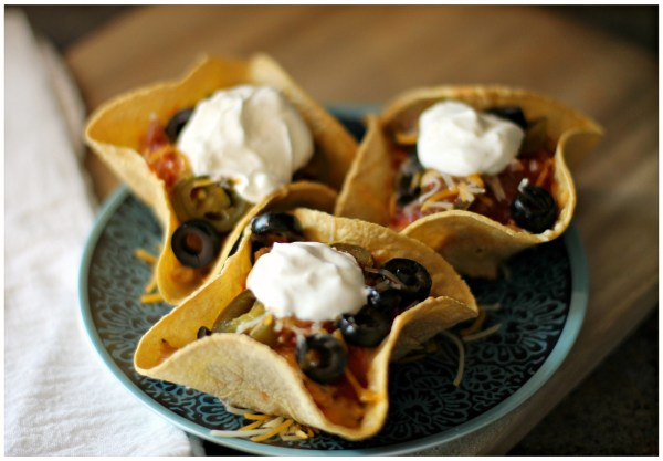 Easy Nacho Cups - Taco Cups Recipe